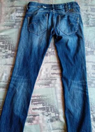 "G-star raw denim  прямые джинсы ""midge""8 фото"