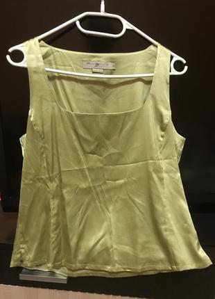 Блуза майка шёлк silk квадратный вырез