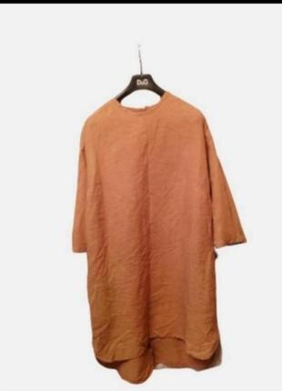 Фирменное платье лен бохо