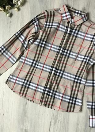 Фирменная рубашка burberry, размер 44