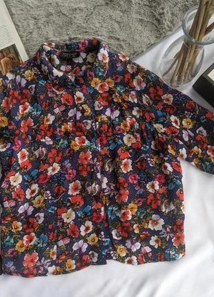 Укороченная блуза/рубашка