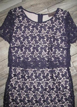 Great plains премиум линейка кружевное платье р. м2 фото
