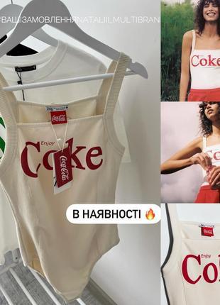 Боді zara coca-cola m