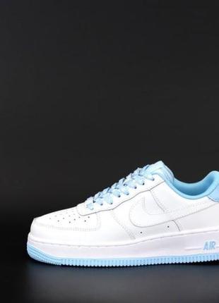 Жіночі кросівки nike air force 1low blue