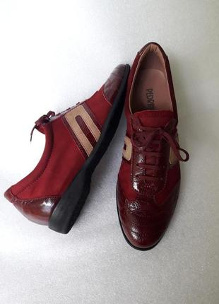 Pedrino повністю шкіряні м'які туфлі кросівки
