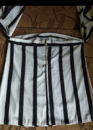Очень шикарная блузка в полоску4 фото