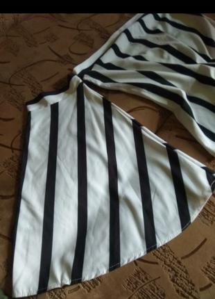 Очень шикарная блузка в полоску3 фото