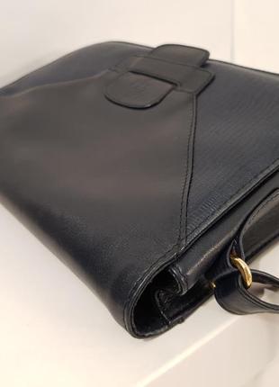 Породистая кожаная сумка crossbody guiliano dorre италия5 фото