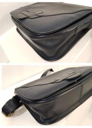 Породистая кожаная сумка crossbody guiliano dorre италия8 фото