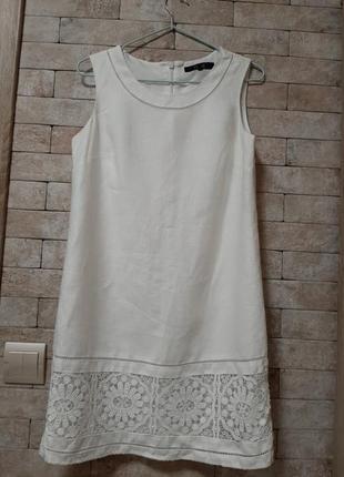 Льняное  платье  👗