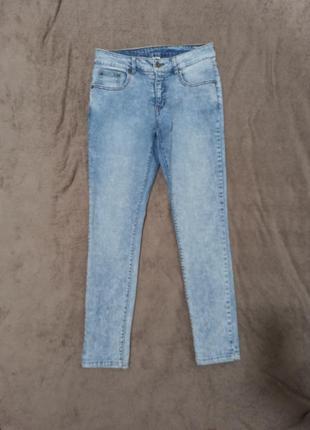 Штаны джинсы скинни узкачи суперстрейч