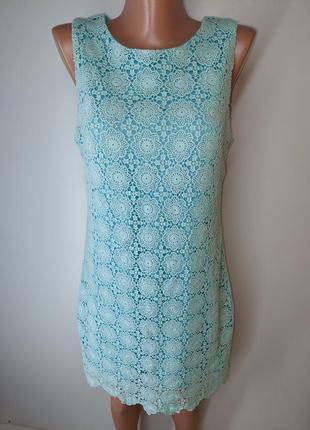 Бірюзове плаття goddiva квітковий принт