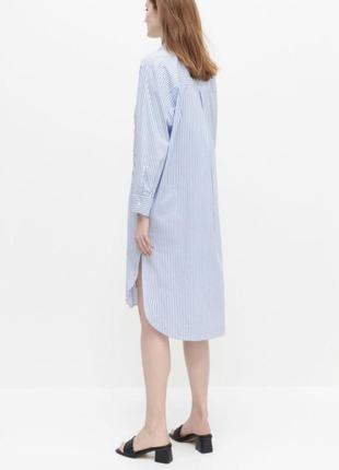 Платье рубашка хлопковая туника на пляж рубашка удлинённая