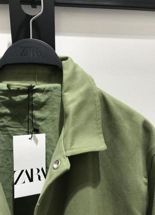 Куртка-рубашка джинсовая