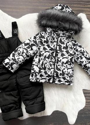 Комбинезон зимний стильный
