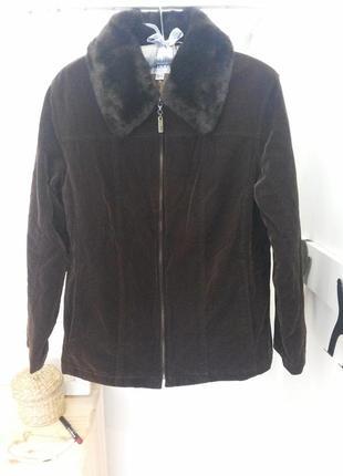 Куртка со съемным мехом next