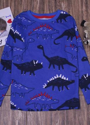 Яркий реглан с динозаврами urban 4-5 лет