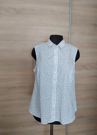 Marks & spencer хлопковая блуза