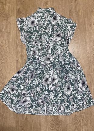 Женское платье летнее, очень легкое на пуговицах, платье халат