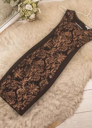 Очень красивое платье по фигуре от new look рр 12 наш 46