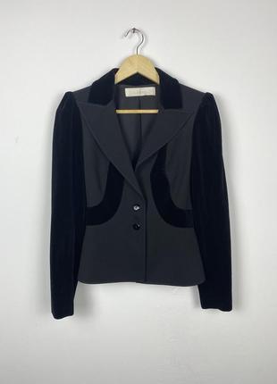 Женский блейзер пиджак valentino cropped blazer