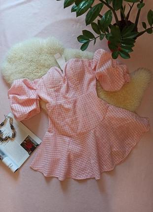 Плаття сукня з красивими рукавами