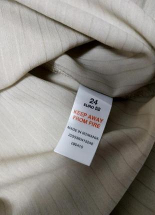 Блуза рубашка большой размер серо-бежевая вискоза essence6 фото