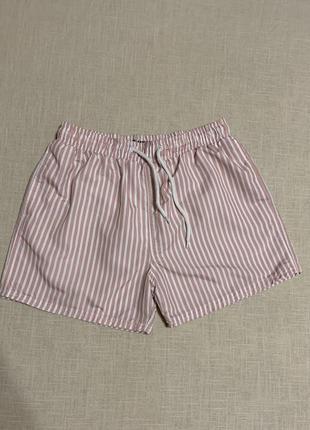 Полосатые шорты для купания