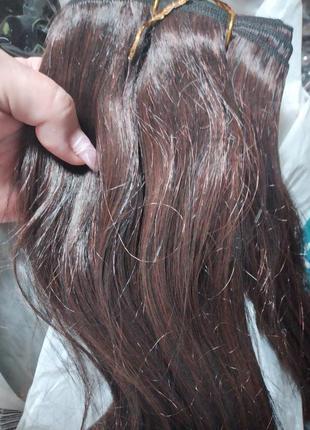 Волосы натуральные трессированные