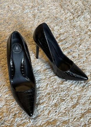 Туфли на шпильке, 37-38 размер5 фото