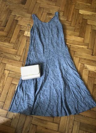 Плаття платье платья  лен льон