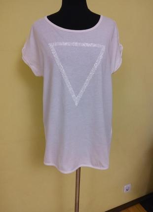 Белая базовая футболка mavi раз.40-42