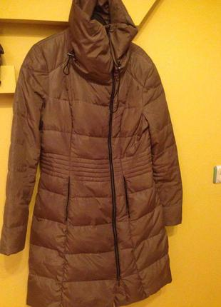 Пальто пуховое