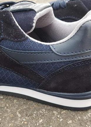 Демисезонные мужские кроссовки темносиние4 фото