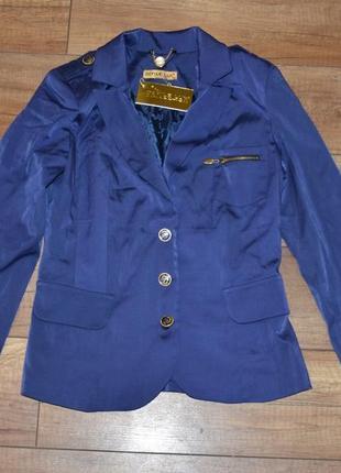 Стильный новый пиджак, жакет defile lux р-р 38, s-m