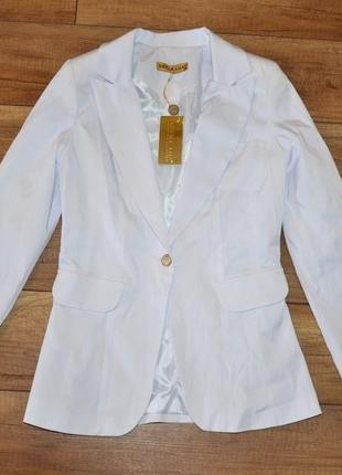 Стильный новый пиджак, жакет defile lux р-р 38, s-m, р-р 40, м-l