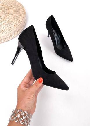 Рр 36-40. туфли черные