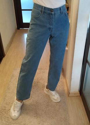 Плотные прямые джинсы трубы багги life&glory.