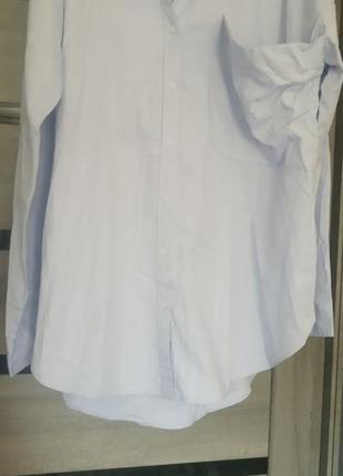 Рубашка оверсайз батал натуральная