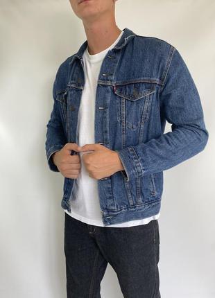 Мужская джинсовка levi's, джинсовая куртка