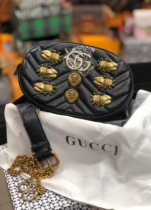 🥥бананка-сумочка в стиле гуччи gucci люкс