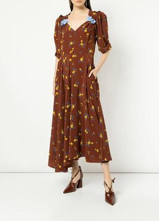 Трендова сукня в квітковому принті від дорогого бренду anna october