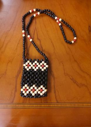 Маленькая плетенная сумочка турция