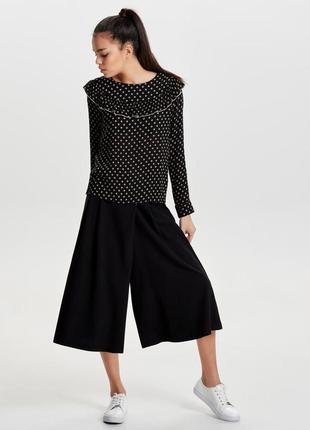 Красивая блуза в ромб only