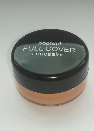 Консилер корректор  для макияжа тон 02 popfeel беж