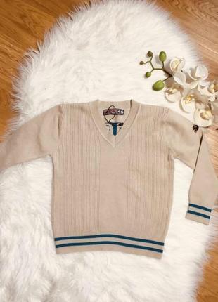 Свитер для мальчика, кофта, шерстяной теплый свитер для мальчика