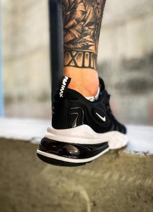 "Nike air max 270 react eng""black/white"