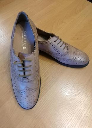 Туфли оксфорды мокасины