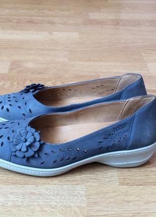 Кожаные туфли hotter 37 размера в отличном состоянии