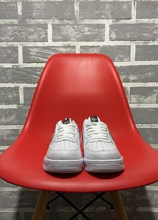 Nike air force white black кроссовки найк женские форсы аир форс кеды обувь взуття3 фото